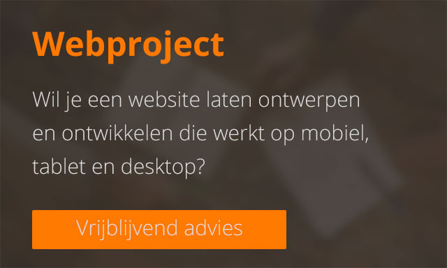 Offerte aanvragen - Webproject
