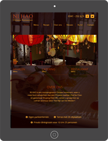 Chinees Restaurant Ni Hao | Tablet