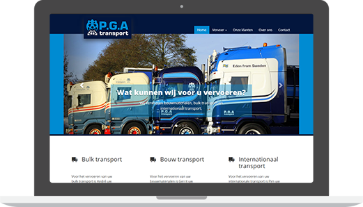 P.G.A Transport | Laptop
