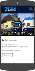 P.G.A Transport | Mobiel