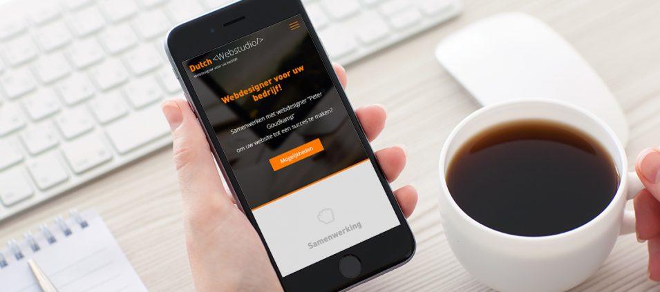 Waarom is een mobiele website belangrijk